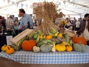 Squashes at Aldeburgh Food and Drink Festival, Snape Maltings, Aldeburgh, Suffolk