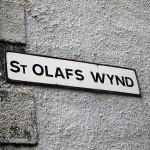 St Olafs Wynd on Kirkwall