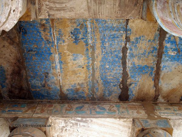 Starry ceiling, Karnak Temple, Luxor