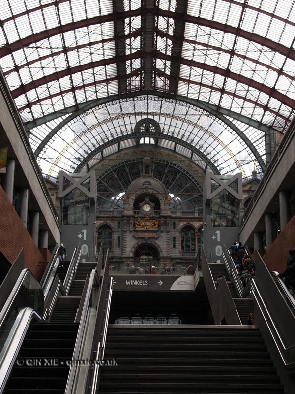 Train station, Antwerp, Belgium