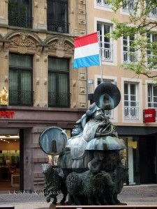 Statue, Luxembourg
