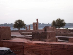 Stone buildings, Ptolemic Temple, Kom Ombo