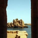 Stones, Philae Temple, Lake Nasser