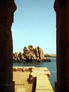 Stones, Philae Temple, Lake Nasser