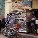 Street food stall, Edfu, Egypt