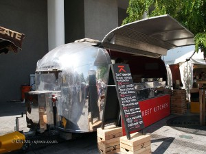 Street Kitchen at Vintage Festival, Southbank