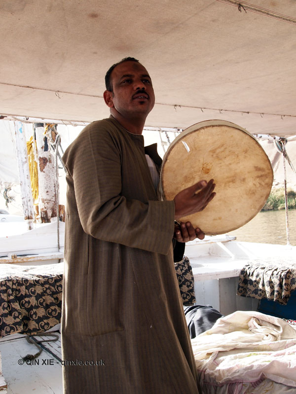 Traditional music, Felucca ride on the Nile
