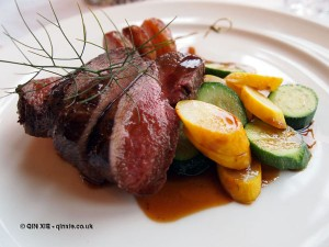 Venison at Balfour Castle