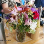 Wild flower arrangement at Riverord Organics