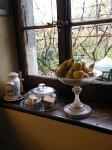 Fruit in window, Geneva