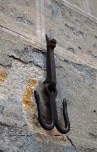 Animal hook, San Gimignano, Italy