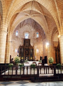 Cathedral interiors, Santo Domingo, Dominican Republic