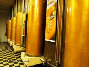 Distillate columns, Molinard, Grasse