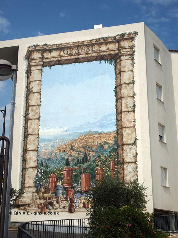 Grasse mural, Grasse
