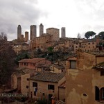Old buildings, San Gimignano, Italy
