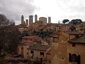 Old buildings, San Gimignano, Italy