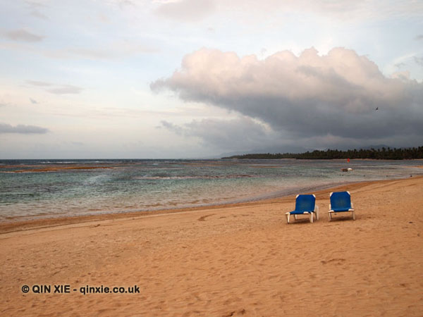 Deck chairs, Dominican Republic