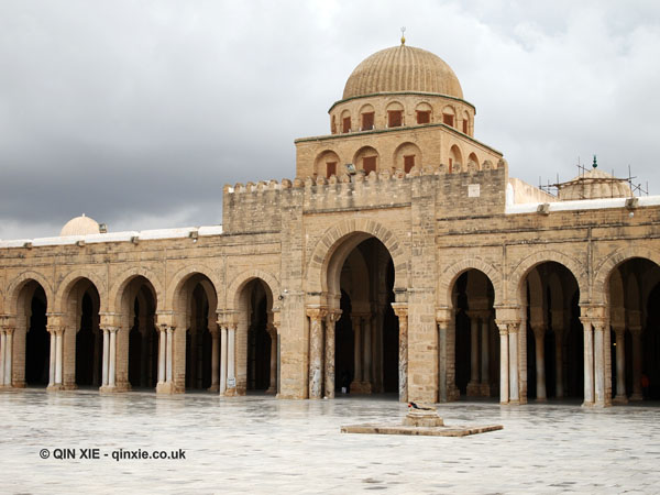 Grand Mosque of Kairouan, Tunisia