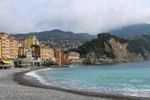 Beach, Camogli