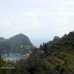 View from hills, Portofino